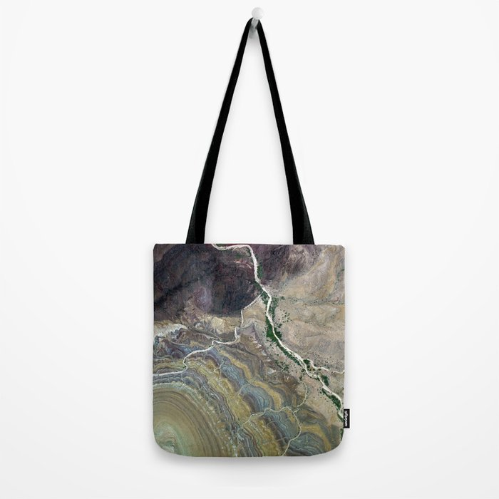 Grand Canyon bird's eye view #3 Tote Bag