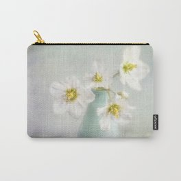 lovely Helleborus Carry-All Pouch