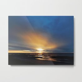 The Light under the Storm Metal Print