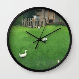A Walk Wall Clock