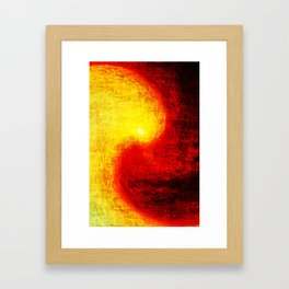 burnsun Framed Art Print