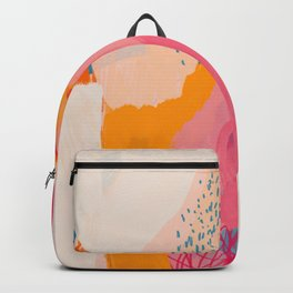 Abstract Line Shades Backpack