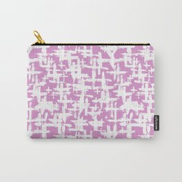 Brush cross on  pink Carry-All Pouch