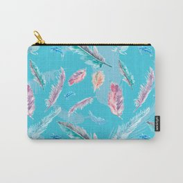 Feathery Dream Carry-All Pouch