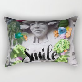 Smile - Cara Dura Proyect Rectangular Pillow