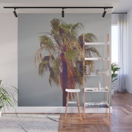 Lone Palm Wall Mural