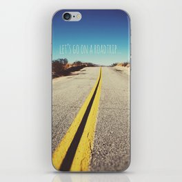 Let's go on a roadtrip... iPhone Skin