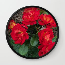 Bella Bouquets Wall Clock