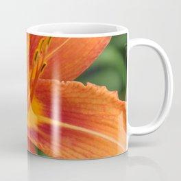 Orange Day Lily Coffee Mug