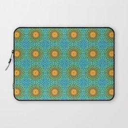Yellow Salsify Flower Pattern Laptop Sleeve