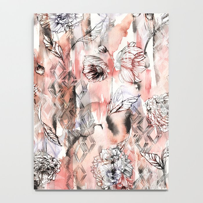 Romantic Floral Notebook
