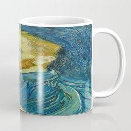 Vincent van Gogh's Self-Portrait, August, 1889 Coffee Mug