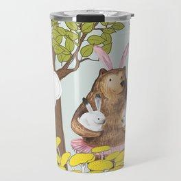 Cute Miss you card design. Travel Mug