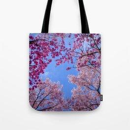 Cherry blossom explosion Tote Bag