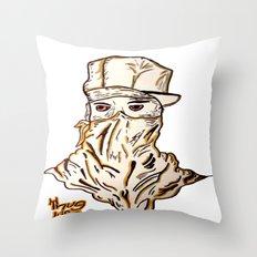 Thug  Throw Pillow