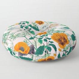 Wildflowers #pattern #illustration Floor Pillow