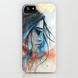 Red & Blue iPhone Case