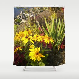 Floral Print 028 Shower Curtain