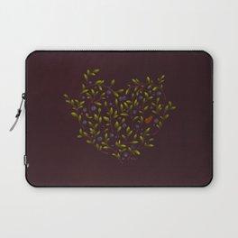 Blueberry Heart Laptop Sleeve