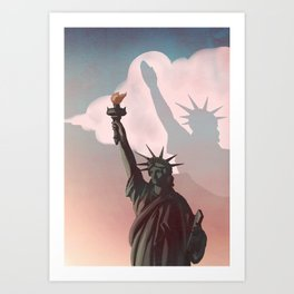 shadows Art Print