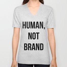 Human, Not Brand Unisex V-Neck