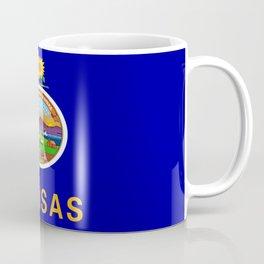 flag Kansas-america,usa,middlewest,Sunflower State, Kansan,Topeka,Wichita,Overland Park,Wheat State Coffee Mug