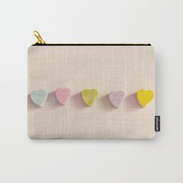 Hearts Candies Carry-All Pouch