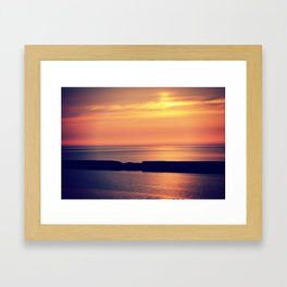 let us paint the sky no. 2 Framed Art Print