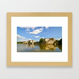 Leeds Castle Reflected Framed Art Print