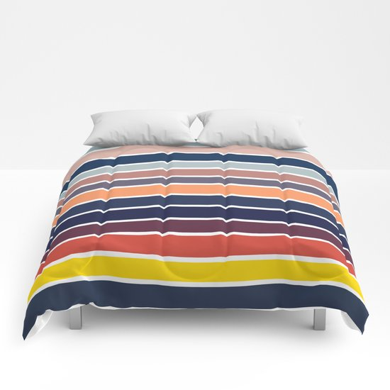 Ocean Sunset #2 Comforters