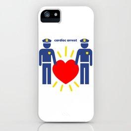 Cardiac Arrest iPhone Case