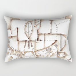 wall installation Rectangular Pillow