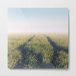 Your green way Metal Print