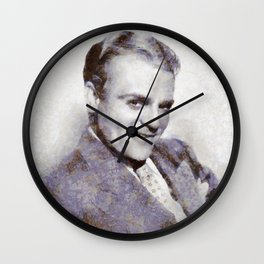 "James ""Jimmy"" Cagney, Actor Wall Clock"