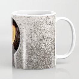 Peeping Tom... Cat Coffee Mug