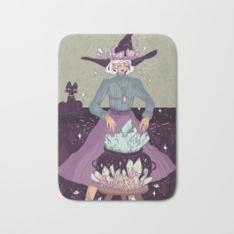 Crystal Witch Bath Mat