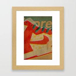dunk Framed Art Print