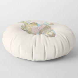 A Traveler's Heart (N.T) Floor Pillow
