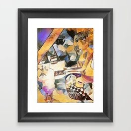 Piano and Voice Framed Art Print
