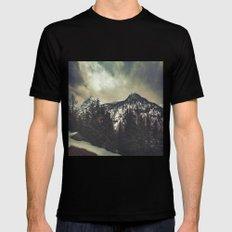 Alpine Twin Peaks MEDIUM Mens Fitted Tee Black