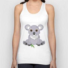 Cute Little Koala Bear Unisex Tank Top