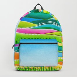Pastel Hills Backpack