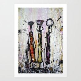 Seeds Of The Sun III Art Print