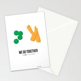 We Go Together Stationery Cards