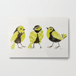 Goldfinches Metal Print