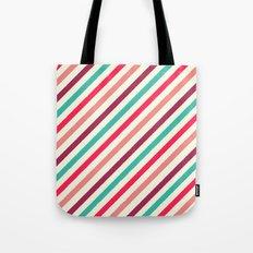 Striped. Tote Bag