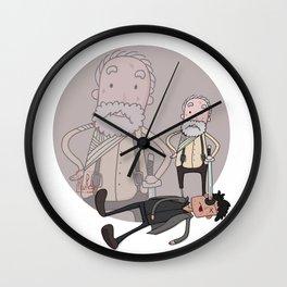 The walking dead hershel killing govenor Wall Clock