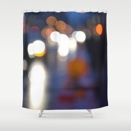 Blurredon6th Shower Curtain
