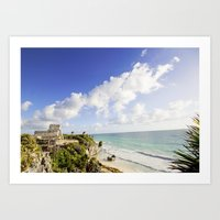 The Mexican Riviera Art Print