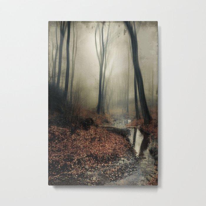 Sounds of Silence Metal Print